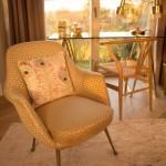 Interior Design Stuhl und Teppich