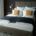 Design Bett in Designer Hotel
