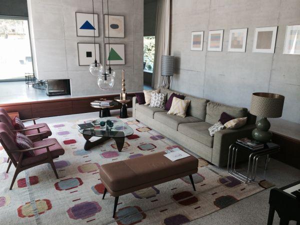 Design Concrete House Wohnzimmer ...