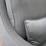 Interior Design Sofa in grau, Detailansicht
