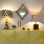 Design Tischleuchten im Showroom von Yasemin Loher München
