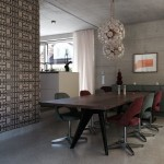 Interior Concrete House Kitchen