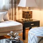 Designtisch und Sofa bei Yasemin Loher