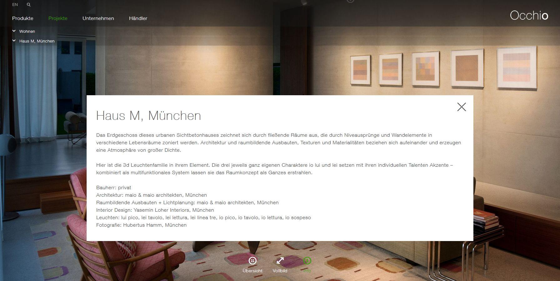 Haus M Interior Design durch Yasemin Loher München